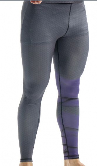 Компрессионные штаны ORSO Bandage-синий