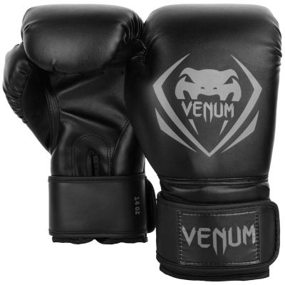 Перчатки боксерские Venum Contender Black/Grey