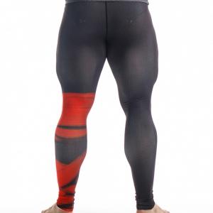 Компрессионные штаны ORSO Bandage-красный