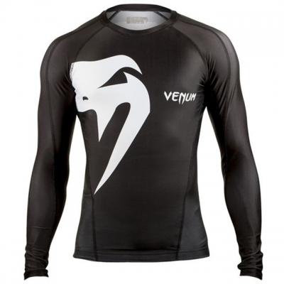 Рашгард Venum Giant Long Sleeve - Black